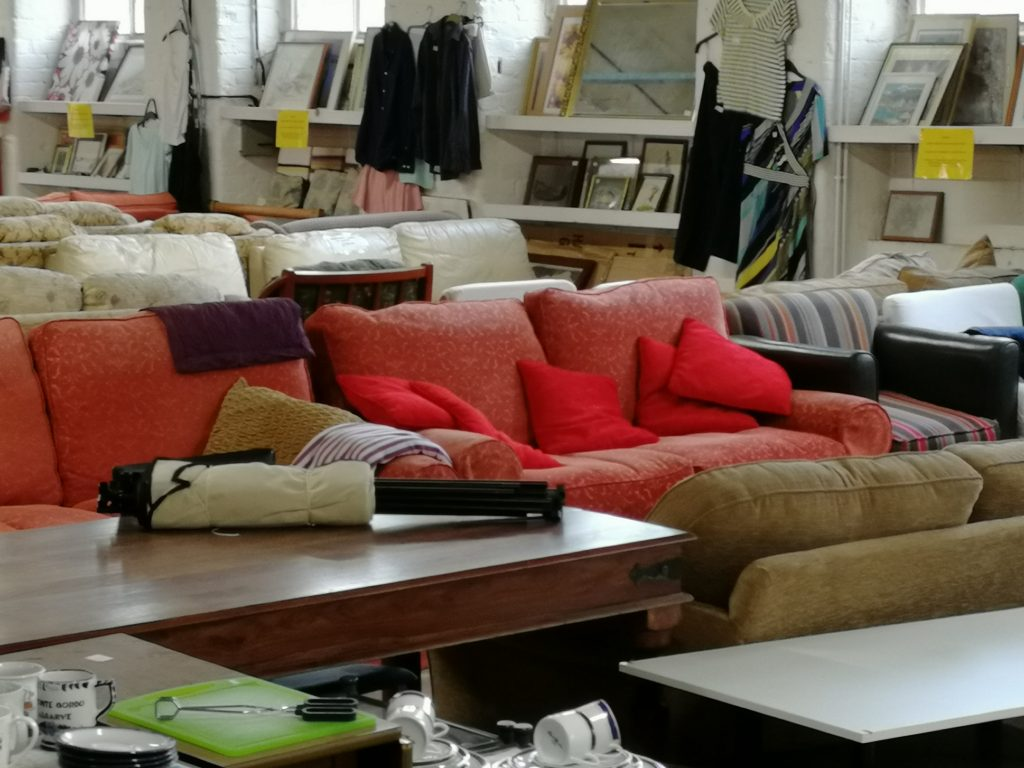 Sofas and Chairs with cushions